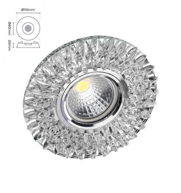 Cam Benefşe Spot Armatür CMS-529