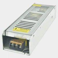 Slim Led Trafo 12 Volt 12.5A 150W Metal Kasa 200x40x58 mm