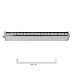 Wallwasher Sharp Led Aydınlatma 36x1W 100 Cm WW 100