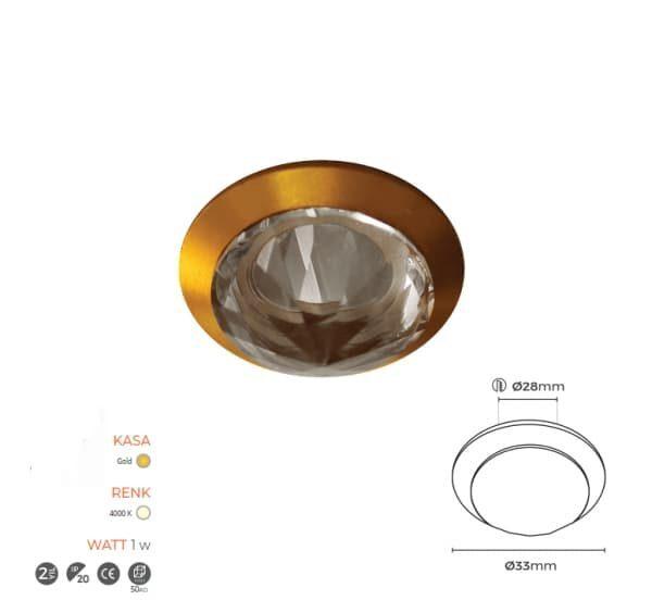 Gold Spot Armatür 7050