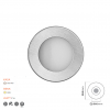 Saten Ve Nikel Mini Led Spot 7023.