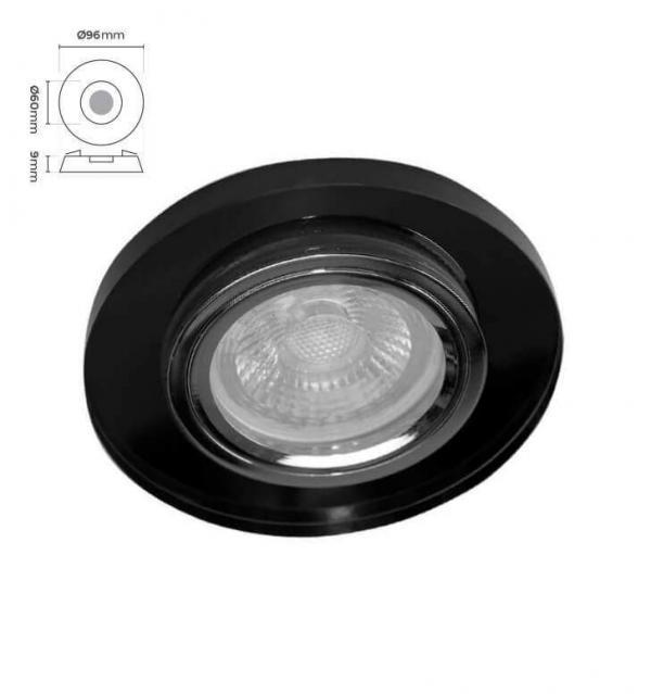 am Spot Siyah CMS-560
