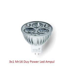 12V Led Ampul 3x1 MR16 16638