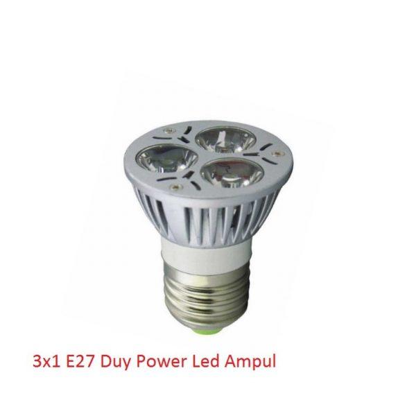 3x1 Led Spot Ampul E27 16631