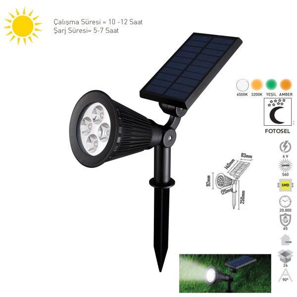 Solar Bahçe Aydınlatması 17212