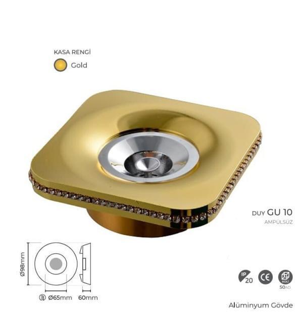 Gold Kasa Spot 18003